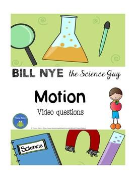Bill Nye - Motion - video questions