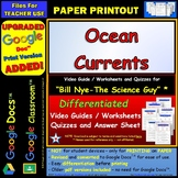 Video Guide, Quiz for Bill Nye – Ocean Currents * PRINTING Google Doc™/pdf