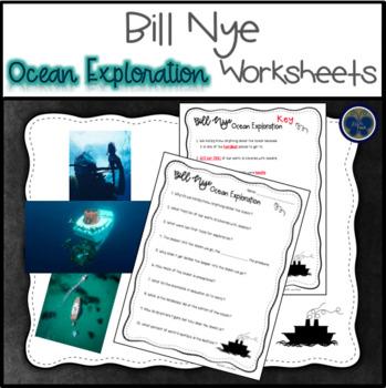 Bill Nye Ocean Exploration Worksheets