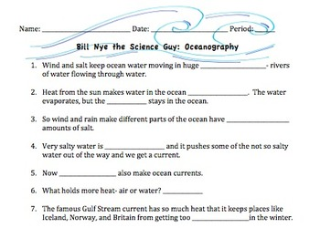Bill nye plants worksheet pdf