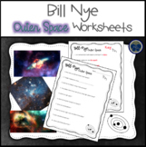 Bill Nye Outer Space Worksheets