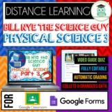 Bill Nye PHYSICAL SCIENCE PART 3 BUNDLE Quiz Google Classr