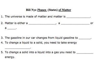 Bill Nye Phases of Matter