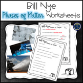 Bill Nye Phases of Matter Worksheets