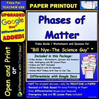 Science Movie Guides Resources Lesson Plans Teachers Pay Teachers