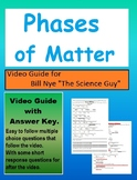 Bill Nye: S1E8 Phases of matter (States of matter) video sheet