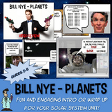 Bill Nye Planets solar system astronomy NO PREP Worksheet PowerPoint Key Jr High