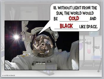 Bill Nye Planets solar system astronomy NO PREP Worksheet PowerPoint Key Jr High