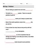 Bill Nye Pollution Video Guide Sheet