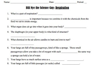 Bill Nye Respiration Video ... by Mayberry in Montana | Teachers ...