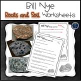 Bill Nye Rocks and Soil Worksheets
