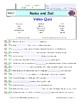 Bill Nye - Rocks and Soil – iPad Interactive Worksheets, Answer Sheet, and Quiz.