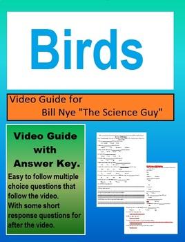 Bill Nye: S3E18 Birds video follow along                       (with answer key)