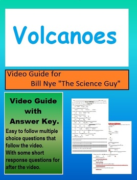 Bill Nye: S4E14 Volcanoes video follow along     (with answer key)