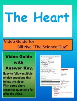 Bill Nye: S4E16 The heart video follow along                   (with answer key)