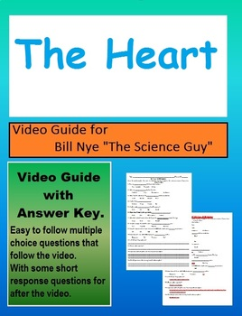 Bill Nye: S4E16 The heart video follow along                   (with answer key)