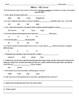 Bill Nye S5E3 Genes video follow along about genetics      (includes answer key)