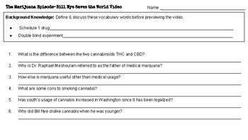 Bill Nye Saves the World:  The Marijuana Episode