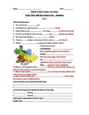 Bill Nye Science Guy Movie – Nutrition. Video Worksheet & Key: Fun + Knowledge!