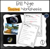 Bill Nye Seasons Worksheets