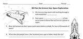 Bill Nye Space Exploration Video Worksheet