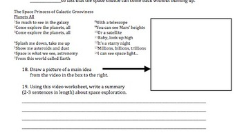 bill nye space exploration video worksheet by mayberry in montana the science guy answer key. Black Bedroom Furniture Sets. Home Design Ideas