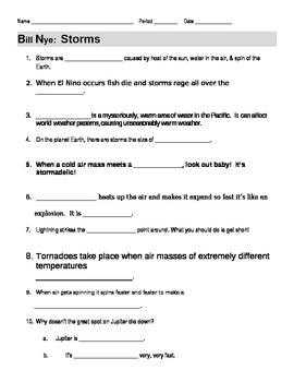 bill nye worksheets worksheets releaseboard free printable worksheets and activities. Black Bedroom Furniture Sets. Home Design Ideas