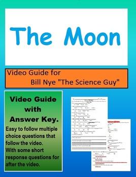 Bill Nye - The Moon video follow a long sheet