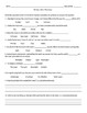 Bill Nye: S1E11 The Moon video follow a long sheet  (with answer key)
