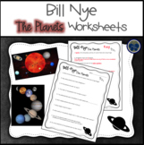 Bill Nye The Planets Worksheets