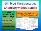 Bill Nye: The Science Guy. Chemistry (5) Video Bundle  (With answer keys)