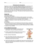 Bill Nye The Science Guy - GERMS worksheet and lesson ideas