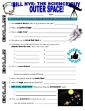 Bill Nye The Science Guy: OUTER SPACE (space / planets video worksheet)