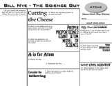 Bill Nye Ultimate Watch-Along Worksheets - 10 Episode Pack!