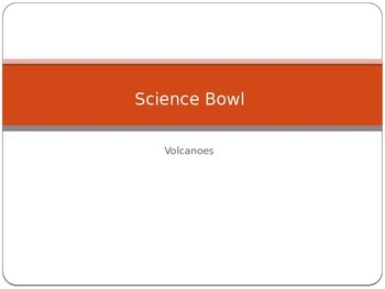 "Bill Nye Volcanoes ""Science Bowl"" Game"