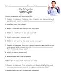 Bill Nye - WATER CYCLE guidesheet