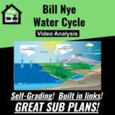 Bill Nye - Water Cycle Google Form (MS-ESS2) (GOOD SUB PLAN or DISTANCE ED)
