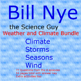 Bill Nye Weather and climate bundle