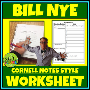 Bill Nye Worksheet
