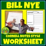 Bill Nye Worksheet with FREE digital Google Doc Version
