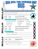 Bill Nye the Science Guy : CELLS (video worksheet / human