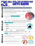 Bill Nye the Science Guy : EARTH'S SEASONS (video worksheet)