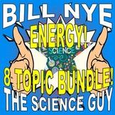 Bill Nye the Science Guy : ENERGY Set (8 video worksheets)