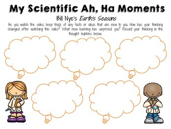 Bill Nye the Science Guy: Earth's Seasons - Video Journal