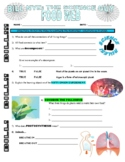 Bill Nye the Science Guy : FOOD WEB (animals video worksheet)