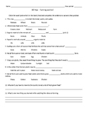 Bill Nye the Science Guy Farming and soil conservation video worksheet