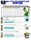 Bill Nye the Science Guy : INVENTIONS (STEM / technology video worksheet)