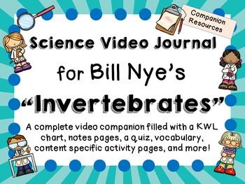Bill Nye the Science Guy: Invertebrates - Video Journal