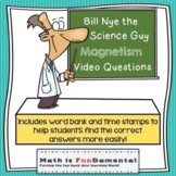Bill Nye the Science Guy Magnetism Video Questions w/ Word Bank & Time Stamp