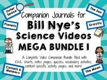 Bill Nye the Science Guy Mega Bundle 1 - Video Journals